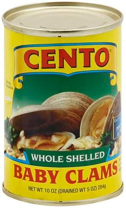 Cento Whole Baby Clams