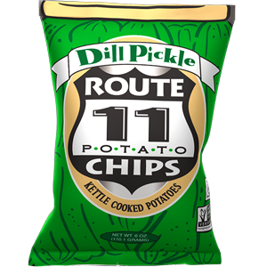 Route 11 Dill Pickle Kettle Chips