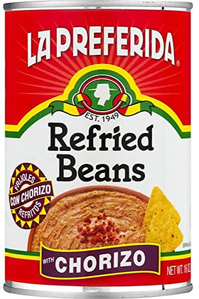 La Preferida Chorizo Refried Beans