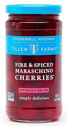 Tillen Farms Fire & Spiced Maraschino Cherries