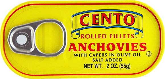 Cento Rolled Anchovies