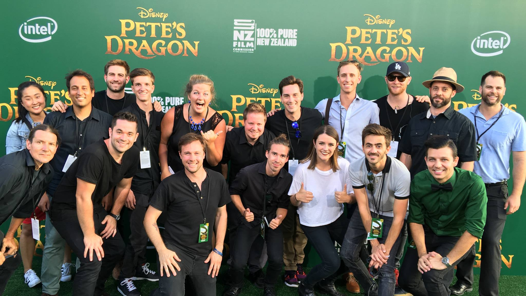 Pete's Dragon World Premiere