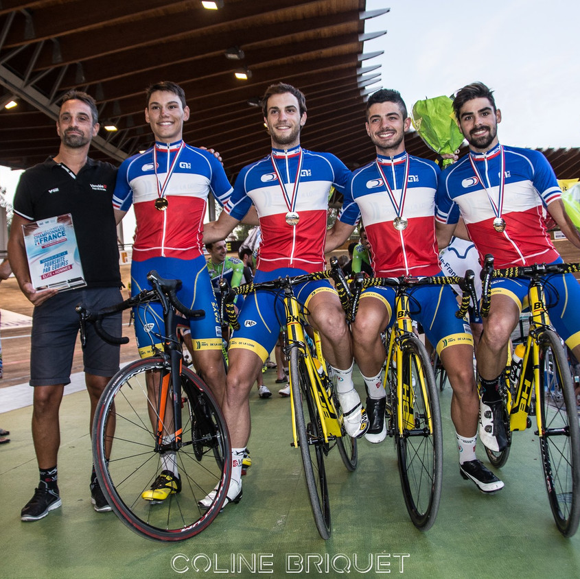 Champions de France 2017 poursuite