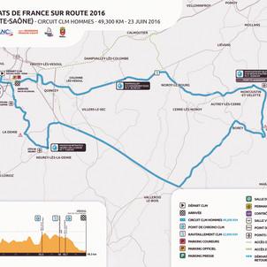 Aujourd'hui : c'est le championnat de France Contre-La-Montre