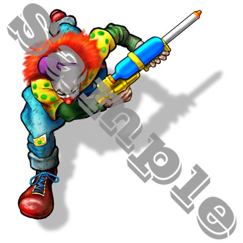 Soaker,clown