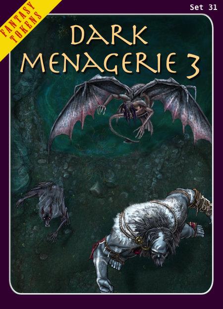 Fantasy Tokens Set 31, Dark Menagerie 3
