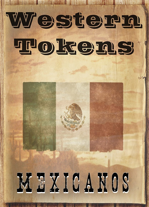Western Tokens Set 5, Mexicanos