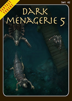 Fantasy Tokens Set 42, Dark Menagerie 5