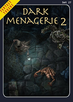 Fantasy Tokens Set 27, Dark Menagerie 2