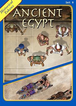 Historical Tokens Set 9, Ancient Egypt