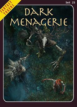 Fantasy Tokens Set 25, Dark Menagerie