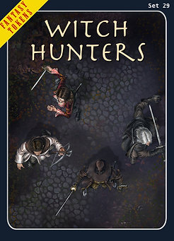 Fantasy Tokens Set 29, Witch Hunters