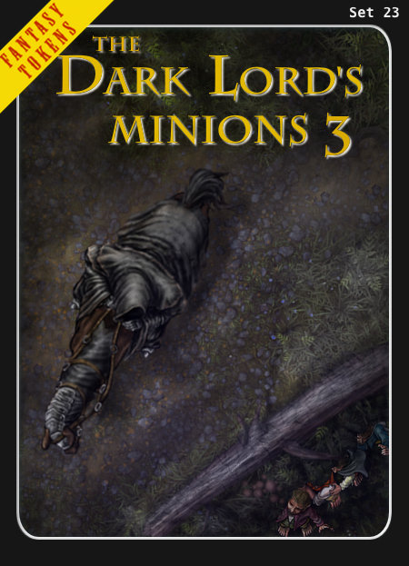 Fantasy Tokens Set 23, The Dark Lord's Minions 3