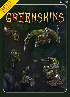 Fantasy Tokens Set 30, Greenskins