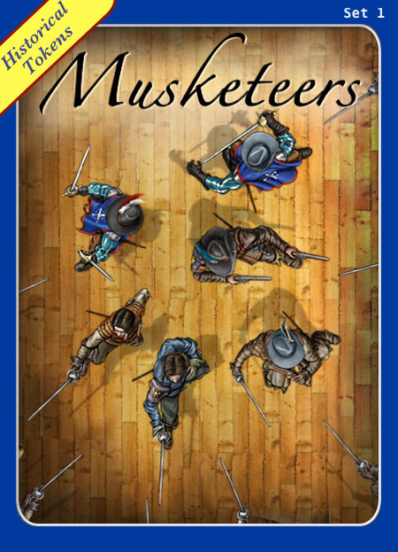 Historical Tokens Set 1, Musketeers