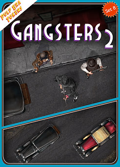 Pulp Era Tokens Set 8, Gangsters 2