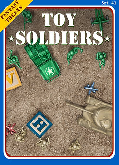 Fantasy Tokens Set 41, Toy Soldiers