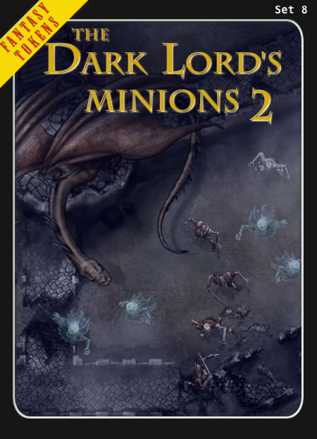 Fantasy Tokens Set 8, The Dark Lord's Minions 2