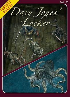 Fantasy Tokens Set 35, Davy Jones' Locker