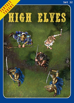 Fantasy Tokens Set 32, High Elves