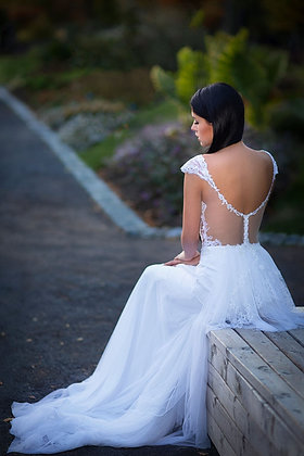 Violet Wedding Dress
