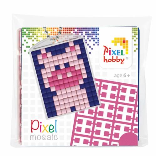 Pixelhobby Sleutelhanger Varken