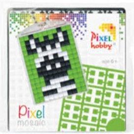 Pixelhobby Sleutelhanger Zebra