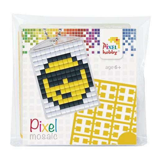 Pixelhobby Sleutelhanger Smiley