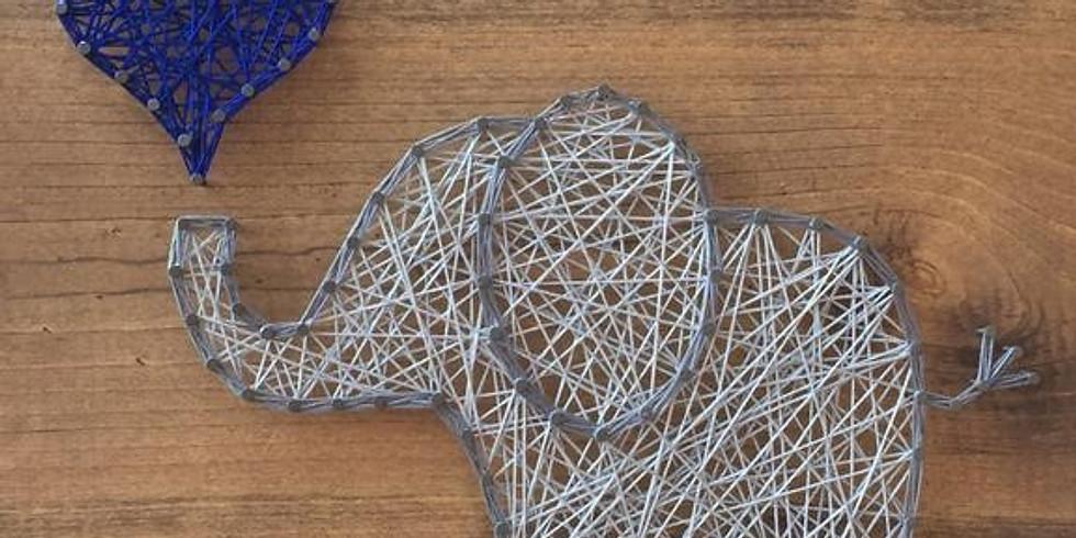 KIDS: String Art Kerst