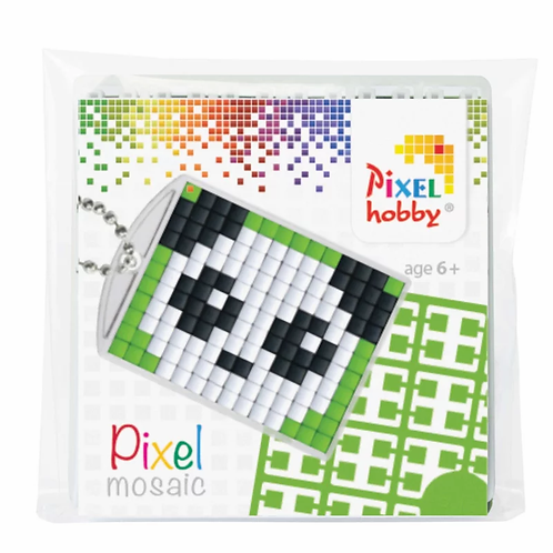 Pixelhobby Sleutelhanger Panda