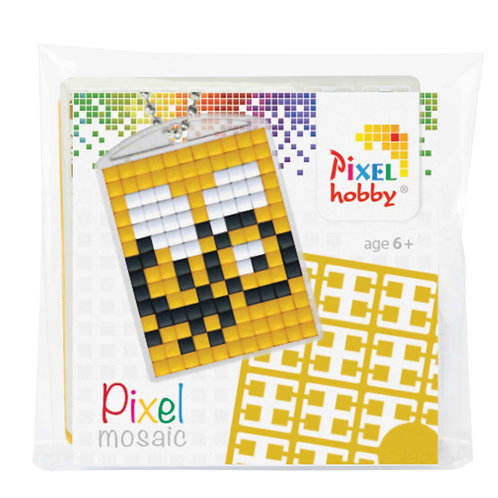 Pixelhobby Sleutelhanger Bij
