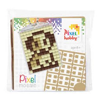 Pixelhobby Sleutelhanger Hondje