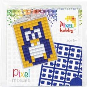 Pixelhobby Sleutelhanger Uil