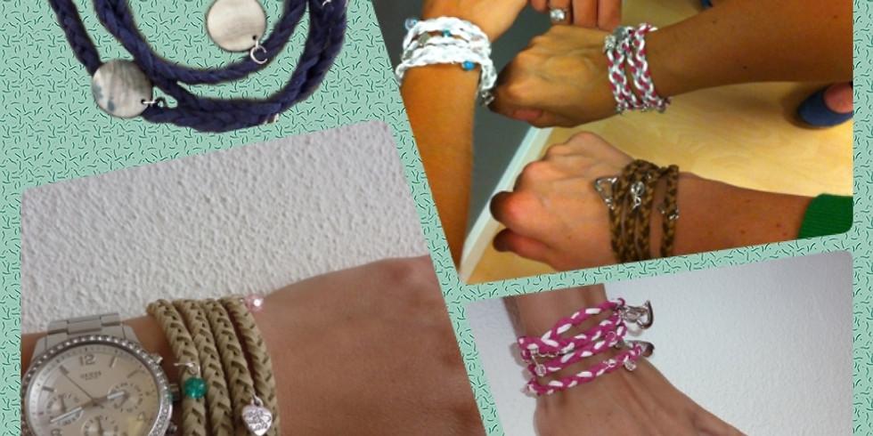 Ouder en kind workshop: wraparmband