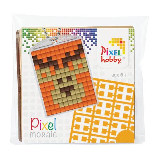 Pixelhobby Sleutelhanger Hert