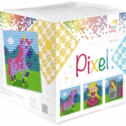 Pixelhobby Pixel Kubus Eenhoorn