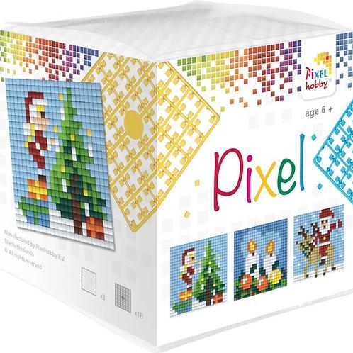 Pixelhobby Pixel Kubus Kerst