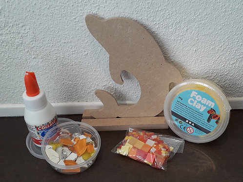 Mozaïekpakket Dolfijn
