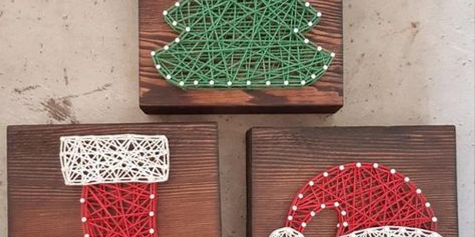String art kerst