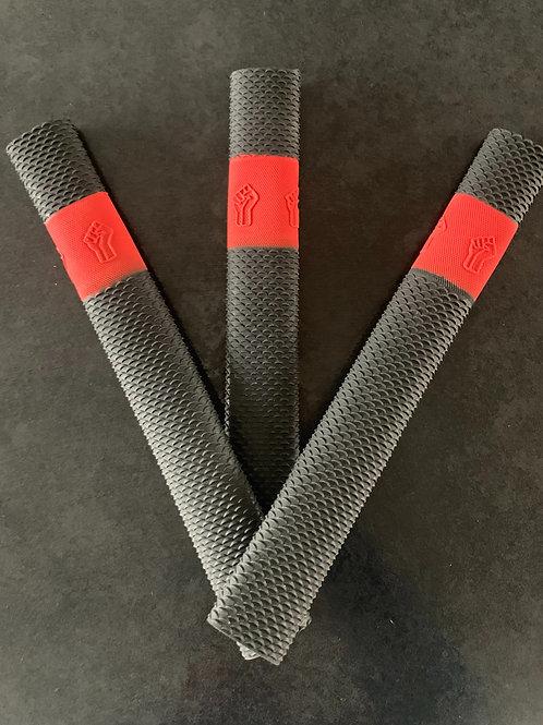 3 PACK BLACK & RED DUNAMIS BAT GRIPS