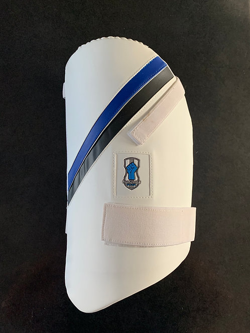 MENS LEFT HANDED SINGLE THIGH GUARD