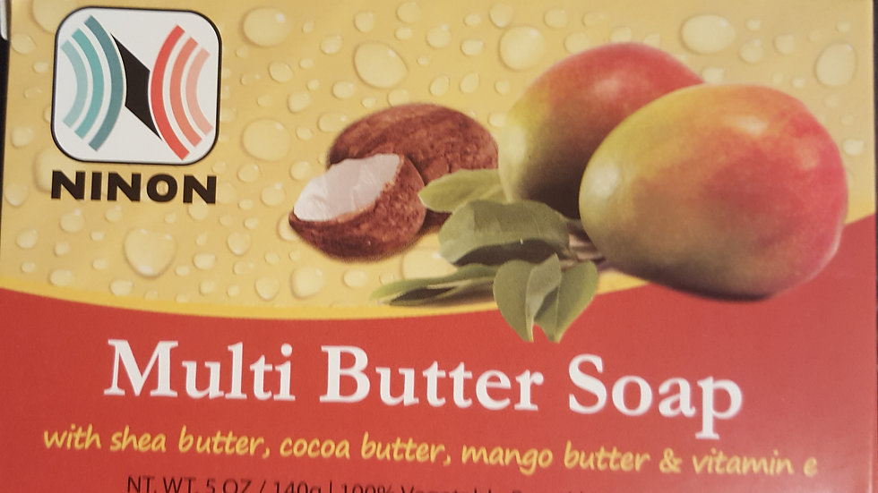 MULTI BUTTER SOAP - 5 OZ