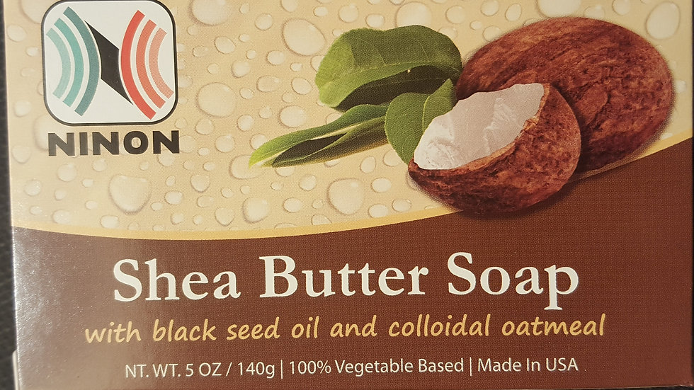 SHEA BUTTER SOAP - 5 OZ
