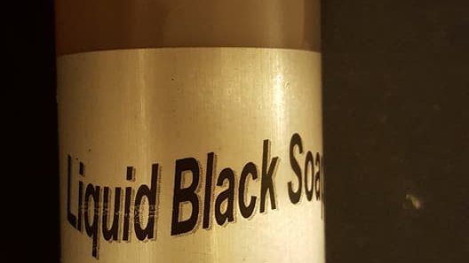LIQUID BLACK SOAP (PERFUMED/UNPERFUMED) - 8 OZ