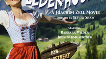 "Barbara working with three ASC members on movie ""Lost Lederhosen"", starring as Heidi!"