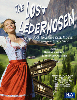 The Lost Lederhosen Poster