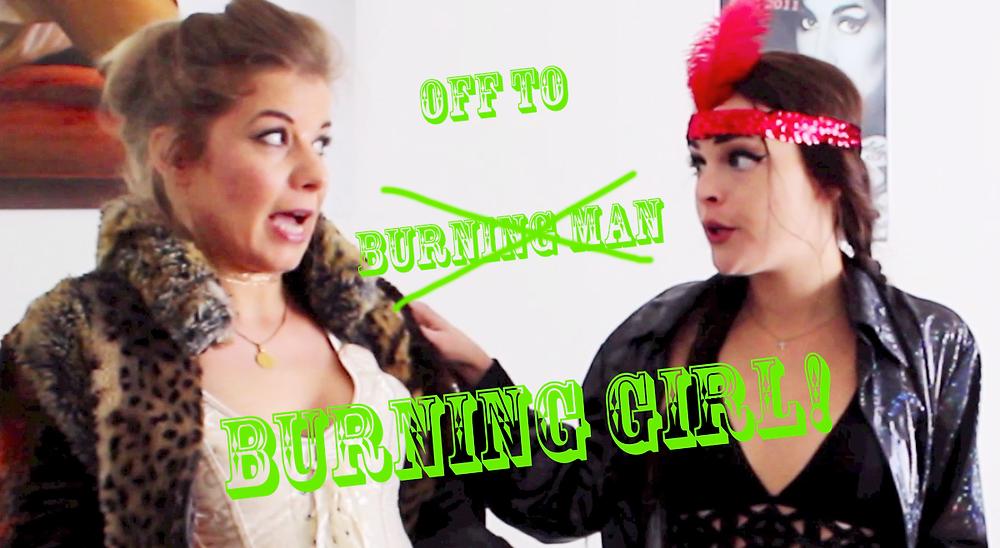 Amazing Burning Girl Barbara Wilder