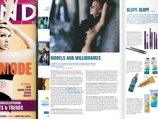 B Wilder featured in the TRENDMAGAZIN