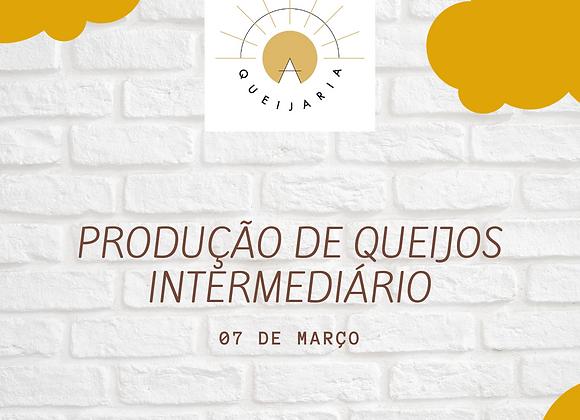 PRODUÇÃO DE QUEIJOS - INTERMEDIÁRIO