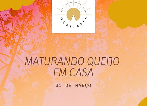 MATURANDO QUEIJO EM CASA